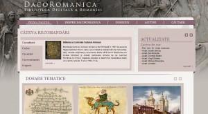 Biblioteca Digitala a Romaniei DacoRomanica